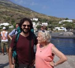 Salvo e Aimée a Stromboli